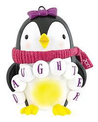 carlton heirloom ornament 2017 penguin in scarf
