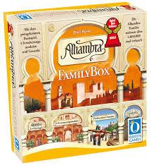2003 Queen Games 6035 Alhambra Family Box Spiel Des Jahres 2003