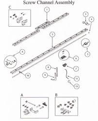 legacy compatible garage door opener parts trilog repair parts