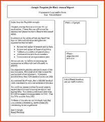 annual report template sponsorship letter