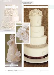 wedding cakes magazine winter 2012 13 squires kitchen shop