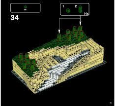 lego fallingwater instructions 21005 architecture