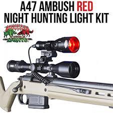 wicked hunting lights amazon amazon com wicked lights a47 red night hunting light kit with 3