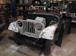 kaiser willys jeep 1958 jeep willys precision car restoration