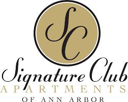 floor plans of signature club apartments in ann arbor mi