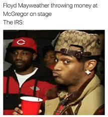 Floyd Meme - dopl3r com memes floyd mayweather throwing money at mcgregor