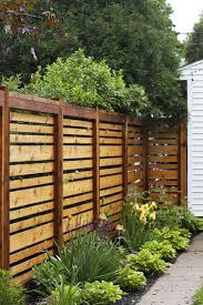 Backyard Privacy Fence Ideas The Fence Is Looking So Fences Backyard And Gardens