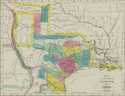 Map Of East Texas Empresario Wikipedia