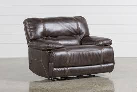 Power Sofa Recliners Leather by Marx Nutmeg Power Recliner Living Spaces