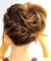 15 fresh updo u0027s for medium length hair popular haircuts