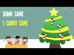 christmas songs for kids five candy canes song 5 candy canes