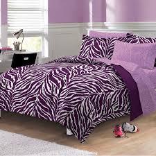 Bed In A Bag Set Zebra Purple Bed In A Bag Set