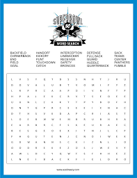 Free Word Search Worksheets Free Super Bowl Word Search Printable Word Search Morning Work