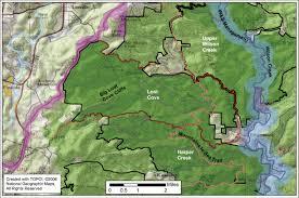 Shining Rock Wilderness Map North Carolina U0027s Mountain Treasures Area Profiles