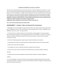 Comparison And Contrast Essay Outline Examples Assignemnet 1 Chapter 1 Skim And Howard Zinn Comparison