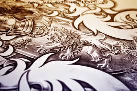 custom tattoo design dark design graphics