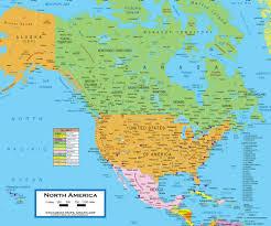 America Map Images by Map Of North America Continent U2013 Israa U0026 Mi Raj Net