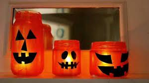 Mason Jars Halloween by How To Make Jack O U0027lantern Jars Youtube