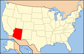 Time Zone Map Of United States by Geography Of Arizona Wikipedia