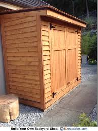 Diy Lean To Storage Shed Plans by Lean To Shed From Our Back Yard Shed Collection Owners Shed