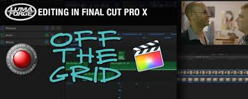 final cut pro text effects off the grid a modern fcpx red resolve workflow part 3 editing
