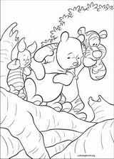 pooh u0027s heffalump movie coloring pages coloringbook org