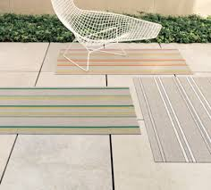 Chilewich Outdoor Rugs Outdoor Rugs Pinstripe Indooroutdoor Rug 8393quot X 11396quot