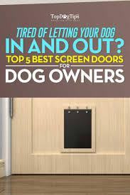top 5 best screen door with dog door choices in 2017