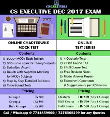 how to score 80 marks in mcq subjects cs executive cscartindia