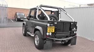 land rover defender convertible land rover defender svx soft top tdci u9730 youtube