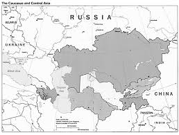 Blank Map Of Russia by World Regional Outline Maps
