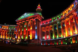 colorful building the most colorful building in denver the lights on the den flickr