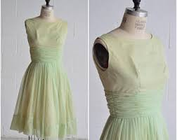 1960s prom dress etsy