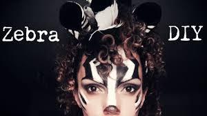 zebra halloween costume halloween diy zebra youtube