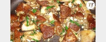 plat d automne cuisine bon plat d automne avec les premiers cèpes