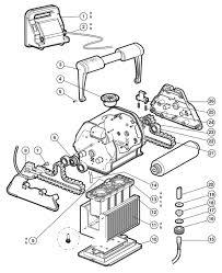 hayward tigershark replacement part schematic