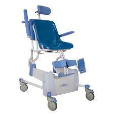 electric shower and bath seating shower chair on casters