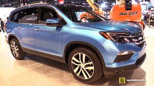 Honda Pilot Interior Photos 2016 Honda Pilot Exterior And Interior Walkaround Debut At