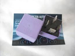 renault purple renault clio mk2 laguna scenic megane 2 x genuine relays g