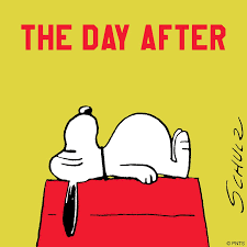 the day after thanksgiving snoopy the peanuts