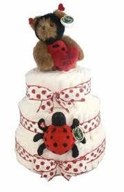 ideas for ladybug baby shower and ladybug diaper cake ladybug
