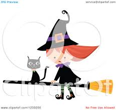 cute halloween clipart free royalty free rf halloween witch clipart illustrations vector