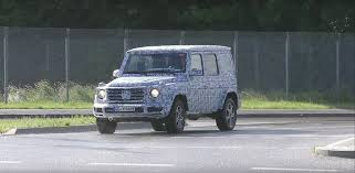 2018 mercedes benz g class prototype shows more skin around