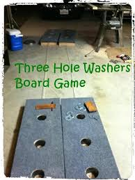 mexican horseshoes build a three washers board 5 steps with pictures