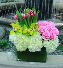 Orchid Cut Flowers - orchid tulip hydrangea bliss in beverly hills ca muguet florist