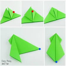 Step By Step Origami For - origami frogs tutorial origami for easy peasy and