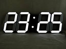 Grande Horloge Murale Design Pas Cher 12 Avec Horloge Murale Digital Design Idées De Design Maison Et Idées De