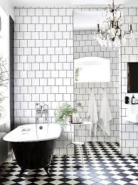 black and white bathroom decor ideas bathroom new black and white tile bathroom decorating pictures