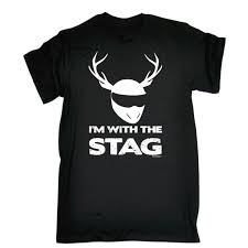 wedding gift jokes i m with stag t shirt slogan joke tshirt gift