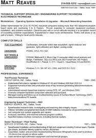 technical resume exles technical resumes 19 resume sle nardellidesign